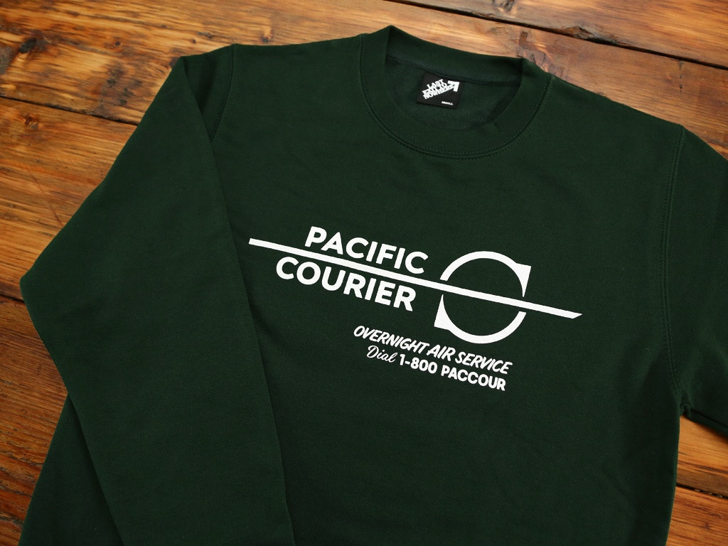 Pacific Courier Sweatshirt and T-shirt inspired by Die Hard