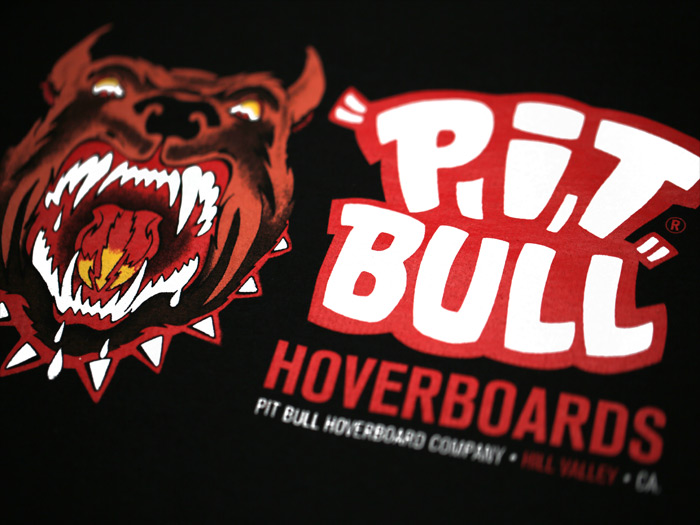 PIT BULL HOVERBOARDS - INSPIRED BY BACK TO THE FUTURE PART II
