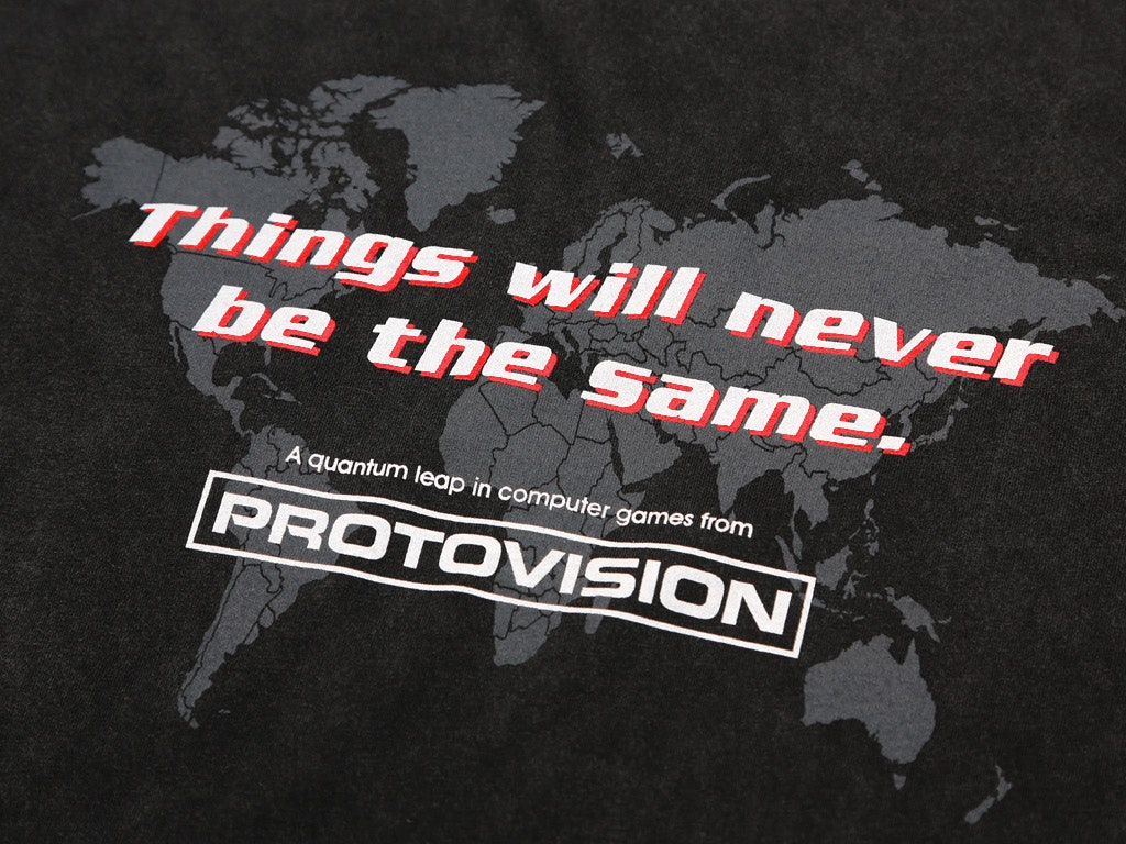 PROTOVISION VINTAGE T-SHIRT INSPIRED BY WARGAMES