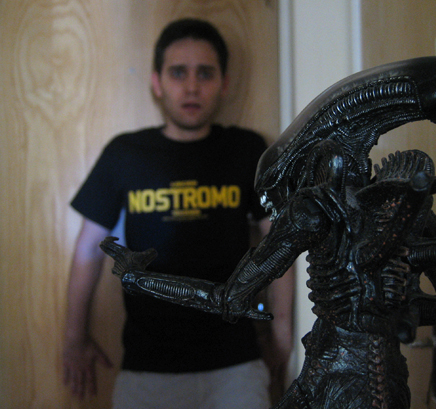 Panos Tsakloglou vs Alien