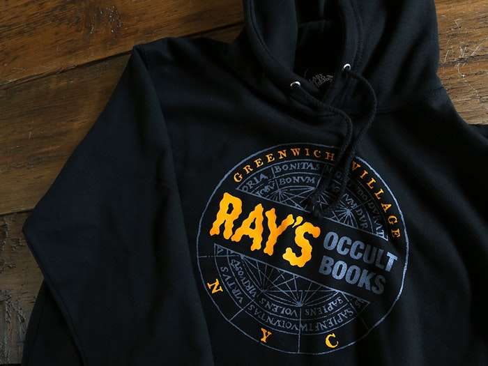 Ray's Occult Bookshop Hooded Top