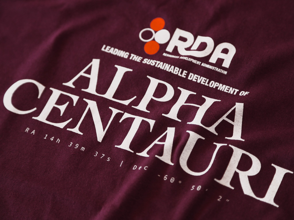 RDA ALPHA CENTAURI - AVATAR INSPIRED T-SHIRT