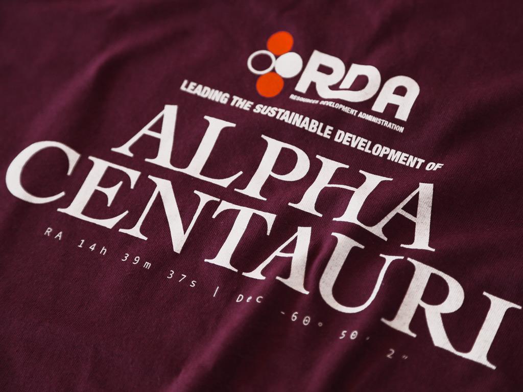 RDA ALPHA CENTAURI - AVATAR INSPIRED T-SHIRT