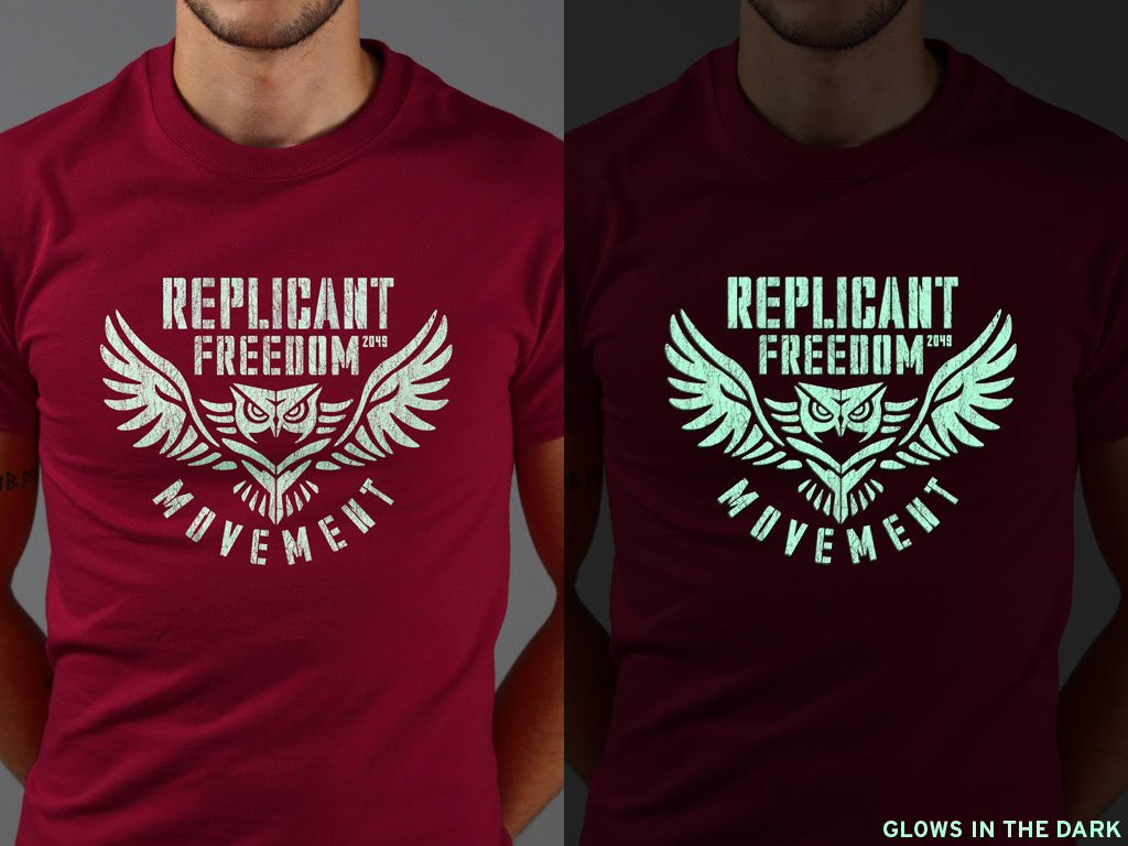 REPLICANT FREEDOM MOVEMENT TSHIRT INSPIRED BY BLADE RUNNER 2049
