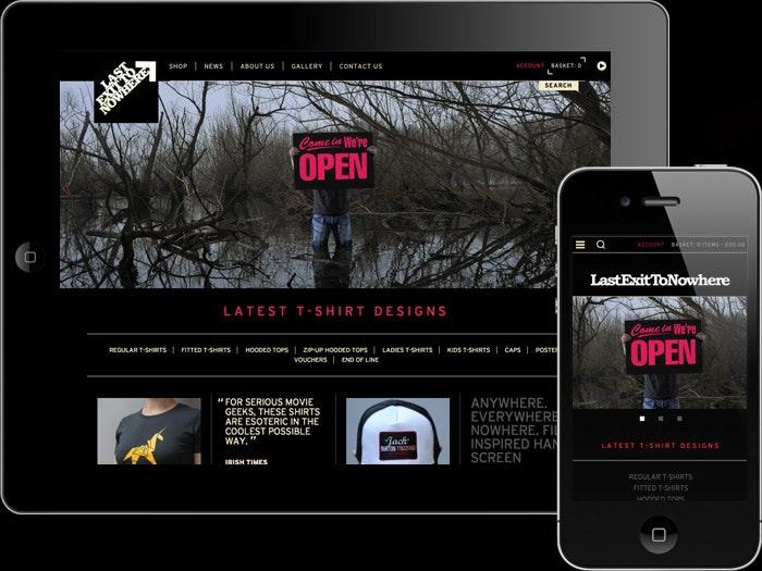Last Exit Responsive Website