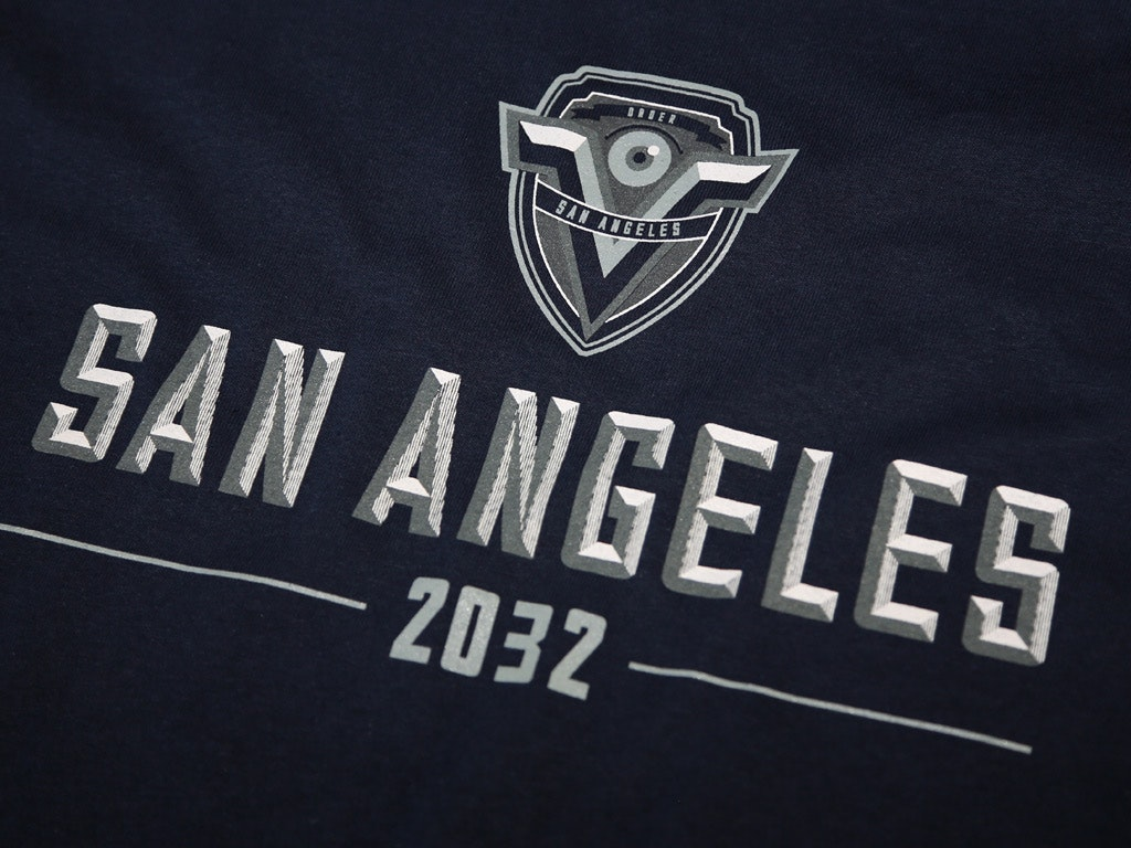 San Angeles 2032 T-shirt inspired by Demolition Man