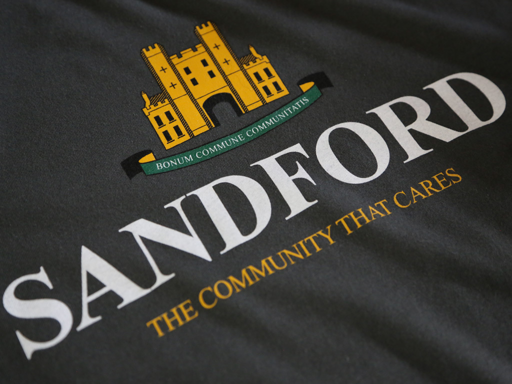 SANDFORD T-SHIRT INSPIRED BY HOT FUZZ