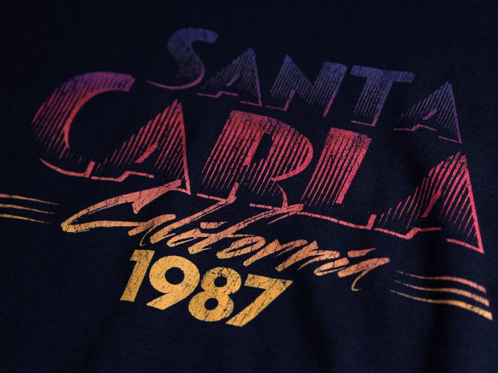 Santa Carla 1987 - The Lost Boys inspired T-shirt