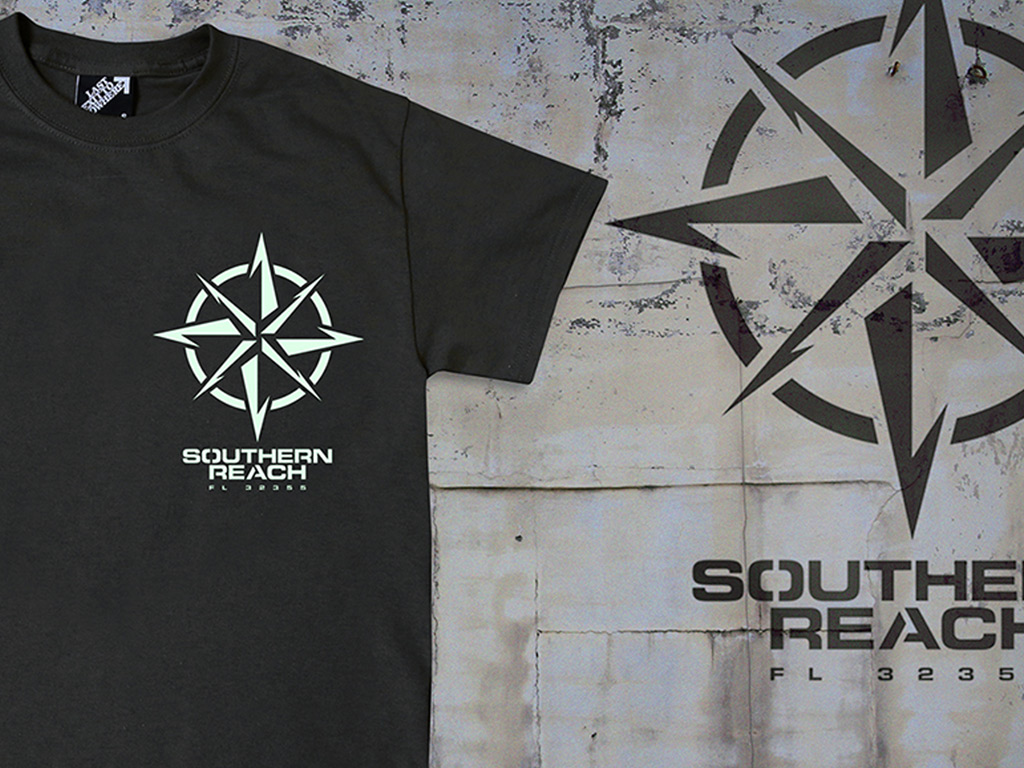 SOUTHERN REACH T-SHIRT - INSPIRED BY THE JEFF VANDERMEER NOVEL, ANNIHILATION