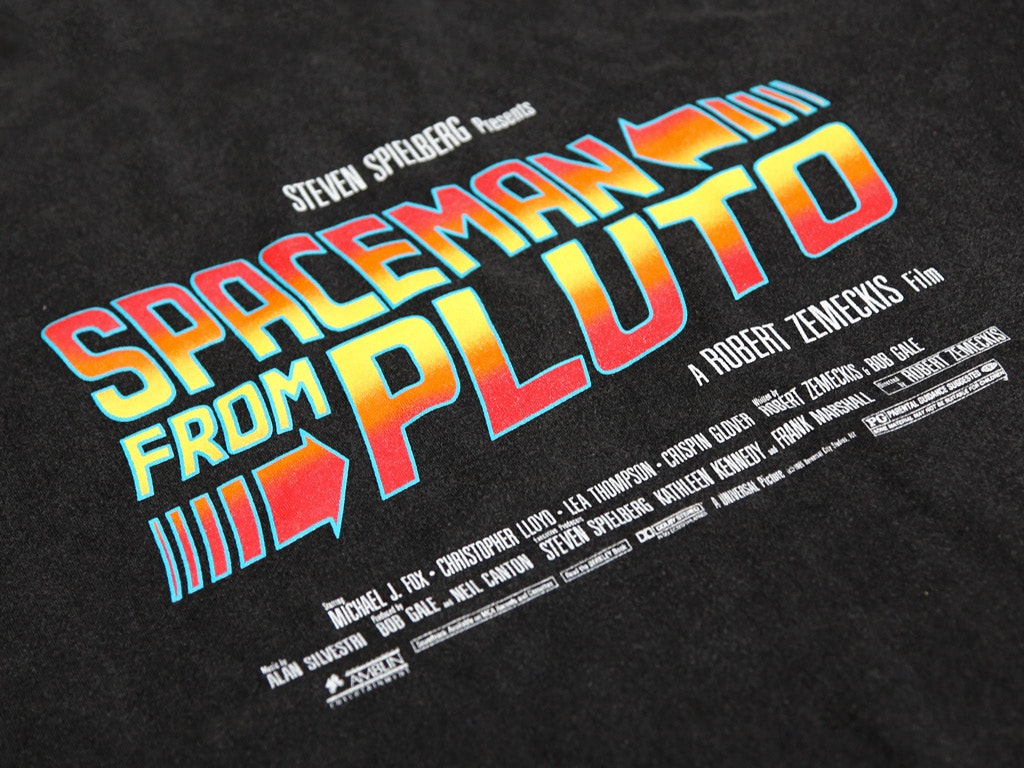 Spaceman from Pluto Vintage Style T-shirt