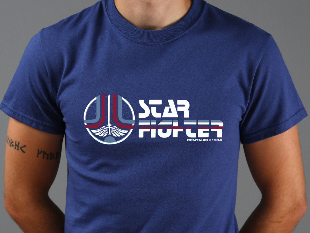 THE LAST STARFIGHTER INSPIRED T-SHIRT