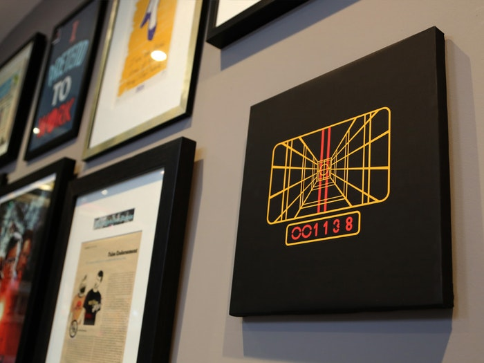 STAY ON TARGET - FILM INSPIRED CANVAS PRINTS