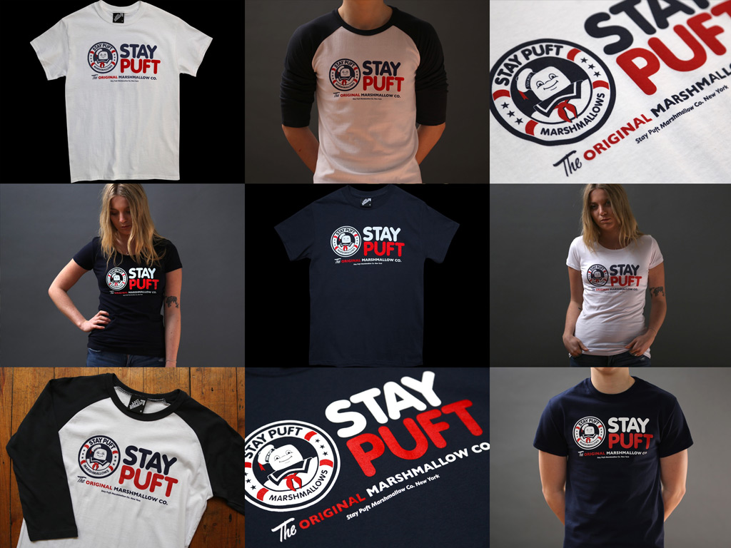STAY PUFT MARSHMALLOW COMPANY - INSPIRED BY GHOSTBUSTERS