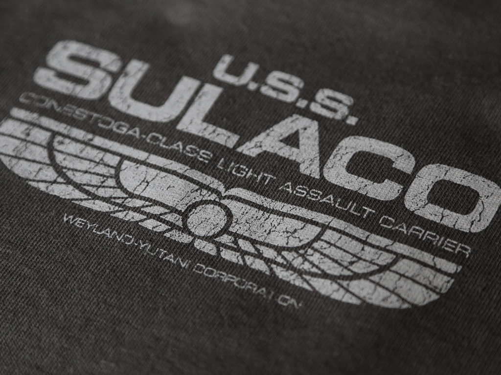 U.S.S. SULACO T-SHIRT INSPIRED BY ALIENS