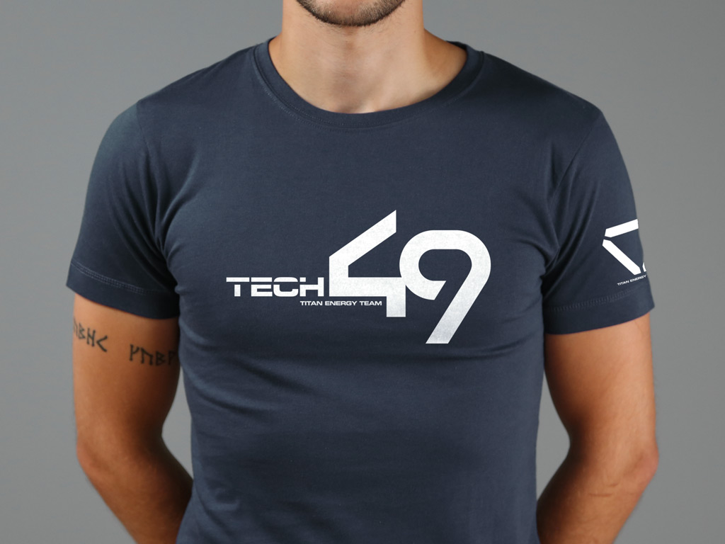 Tech 49 T-shirt inspired by Oblivion