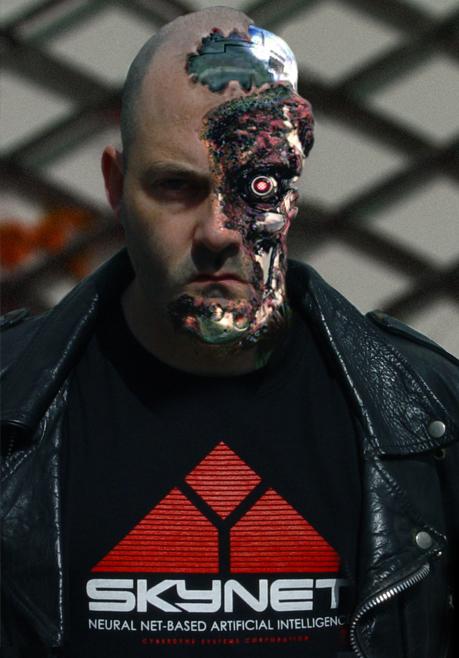 Sean Steele as The Terminator
