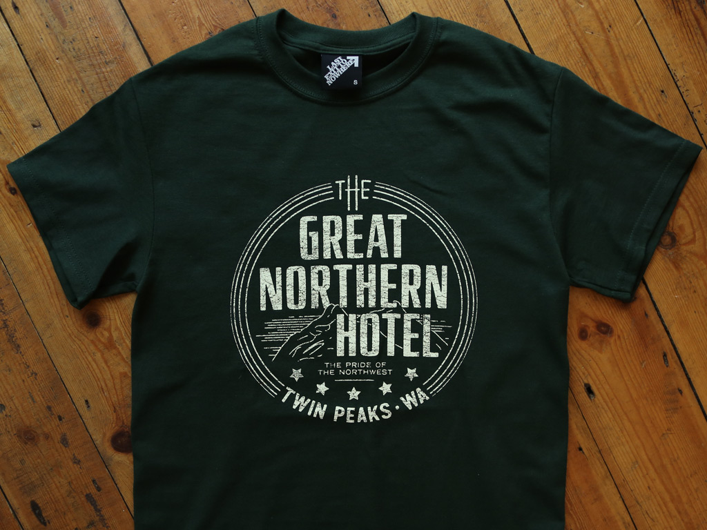 THE GREAT NORTHERN HOTEL TSHIRT INSPIRED BY TWIN PEAKS
