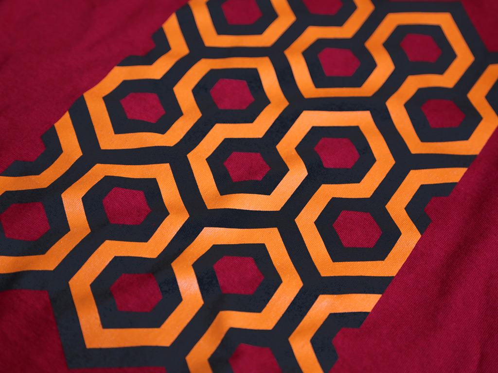 THE OVERLOOK HOTEL CARPET MOTIF T-SHIRT INSPIRED BY THE SHINING
