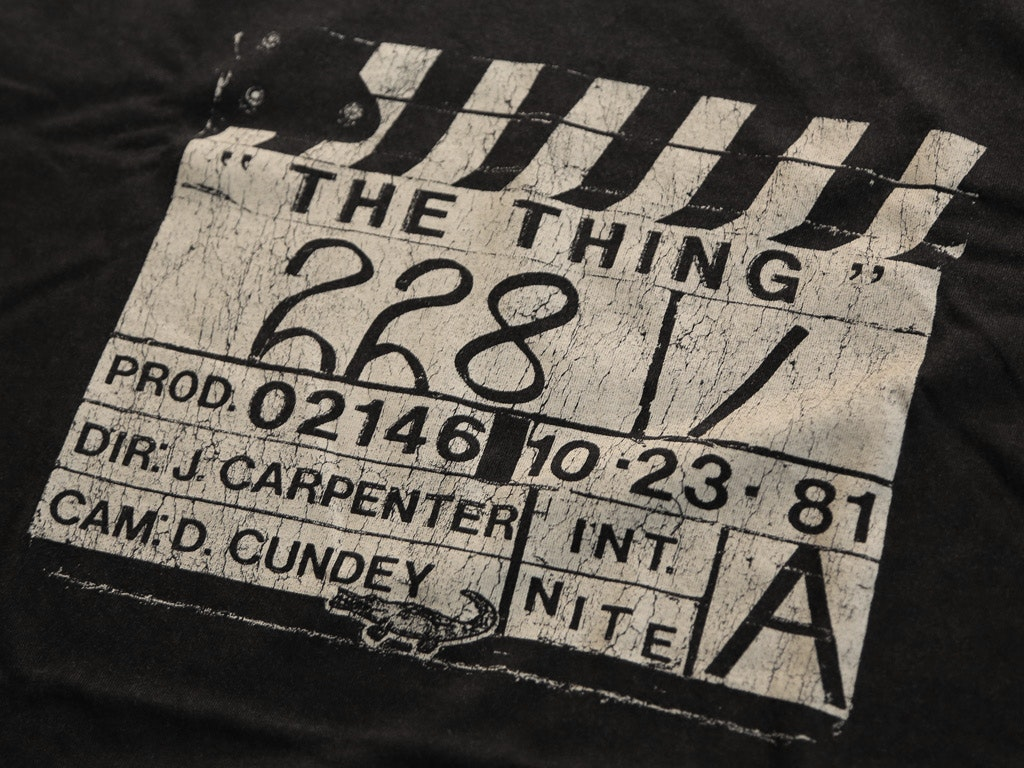 THE THING CLAPPERBOARD T-SHIRT