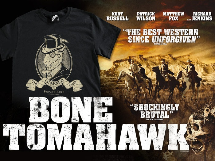 Official Bone Tomahawk T-shirt