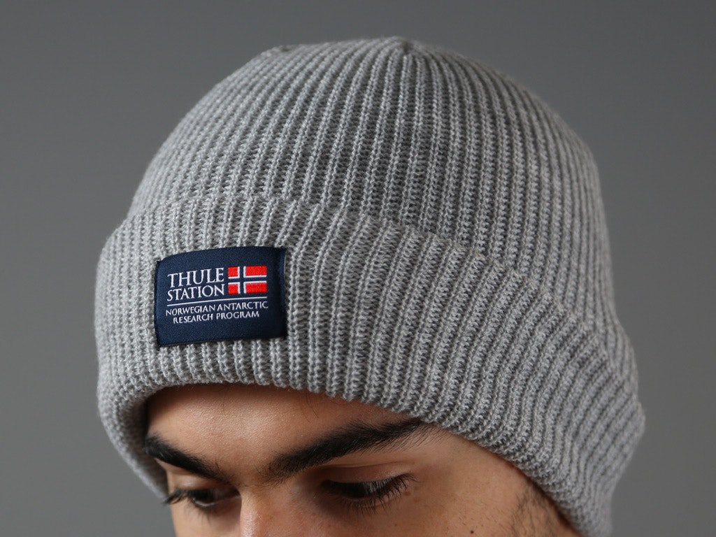 Loose Knit Folded Beanies