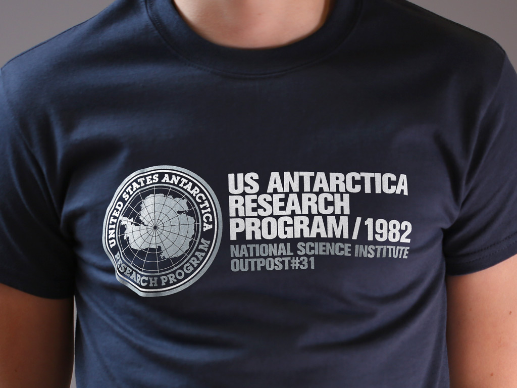 US ANTARCTICA RESEARCH PROGRAM 1982 - THE THING INSPIRED T-SHIRT