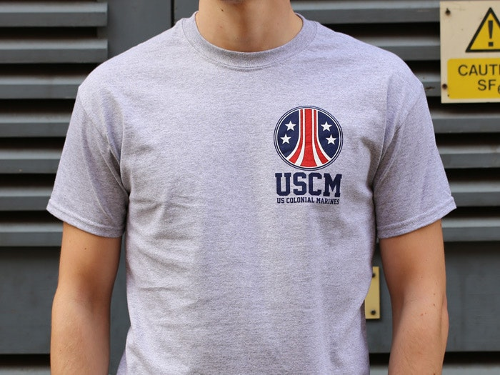 US COLONIAL MARINES T-SHIRT