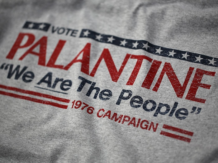 VOTE PALANTINE - TAXI DRIVER INSPIRED T-SHIRT