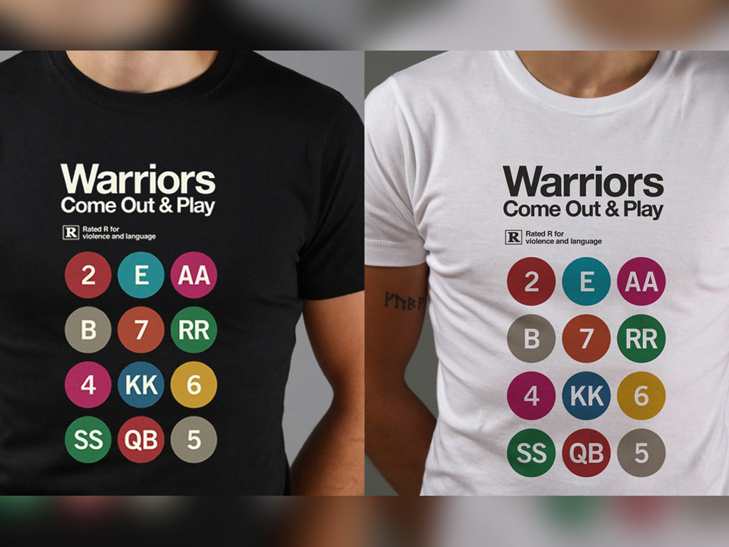 INSPIRED BY THE 1979 FILM, THE WARRIORS