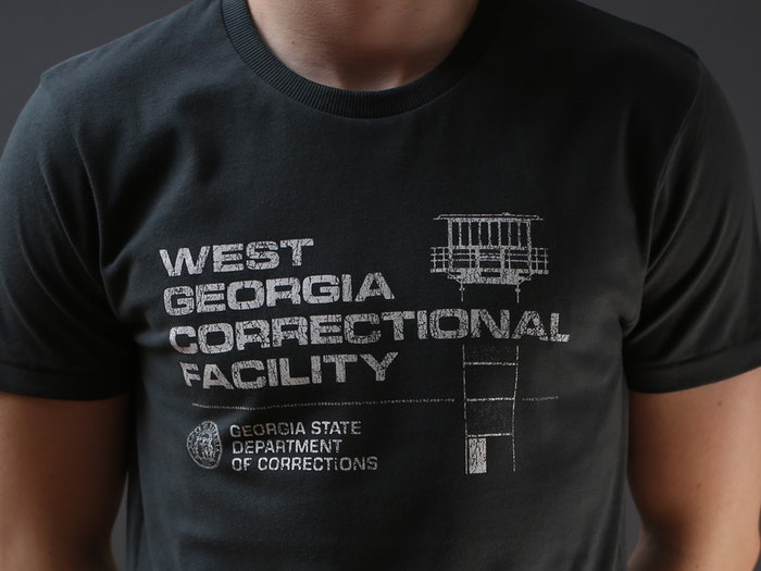 WEST GEORGIA CORRECTIONAL FACILITY T-SHIRT - INSPIRED BY THE WALKING DEAD