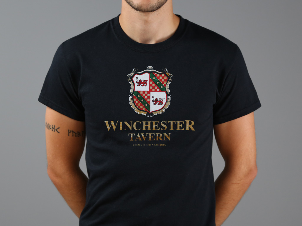 WINCHESTER TAVERN T-SHIRT INSPIRED BY SHAUN OF THE DEAD