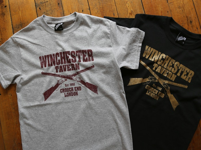 WINCHESTER TAVERN T-SHIRTS INSPIRED BY SHAUN OF THE DEAD
