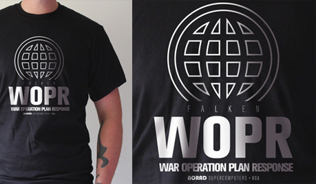 WarGames WOPR T-shirt