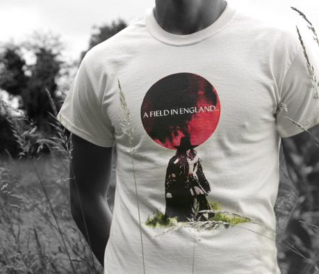 A FIELD IN ENGLAND OFFICIAL T-SHIRT