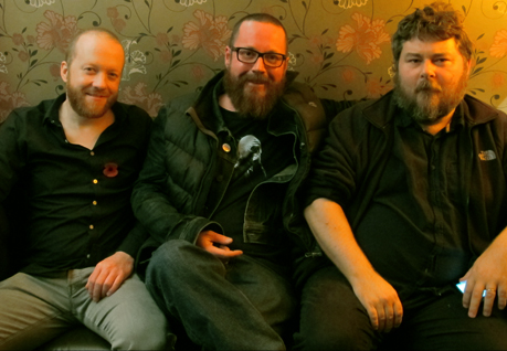 LETN Mike with Steve Oram and Ben Wheatley