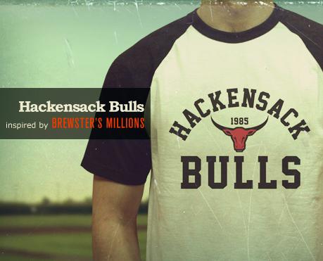 Hackensack Bulls baseball T-shirt