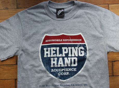 Helping Hand Acceptance Corp T-shirt
