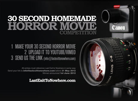 30 Second Homemade Horror Movie Comp