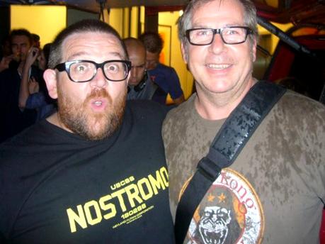 Nick Frost and Matthias Kaufmann