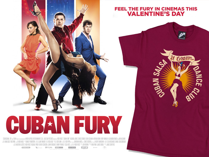 Official Cuban Fury T-shirt