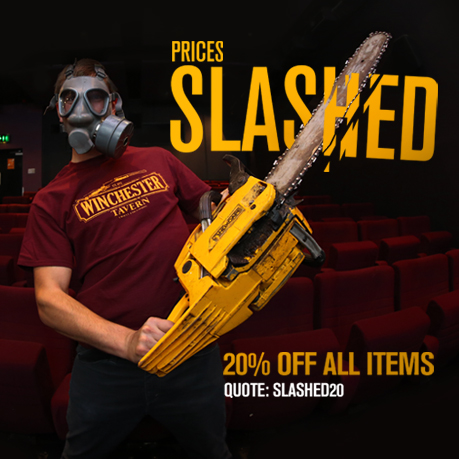 20% OFF all Last Exit to Nowhere items for 24 hours