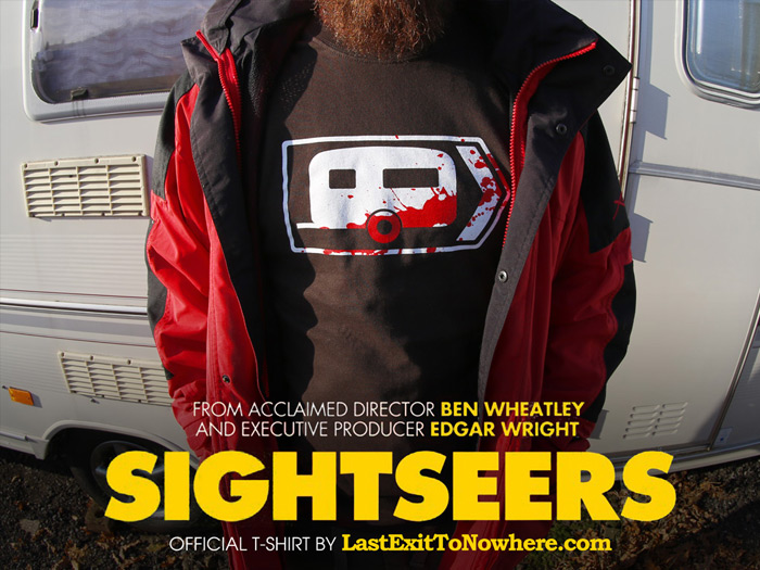 Official T-shirt for Sightseers