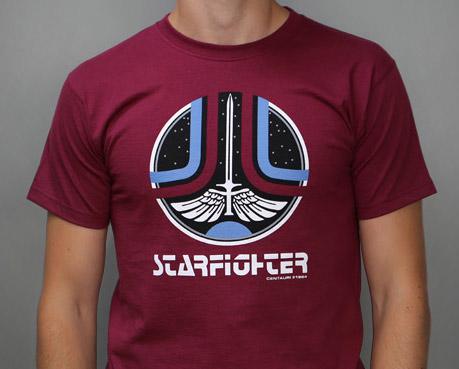 The Last Starfighter inspired T-shirt