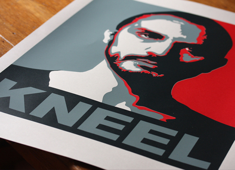 Kneel for General Zod A3 Screenprint