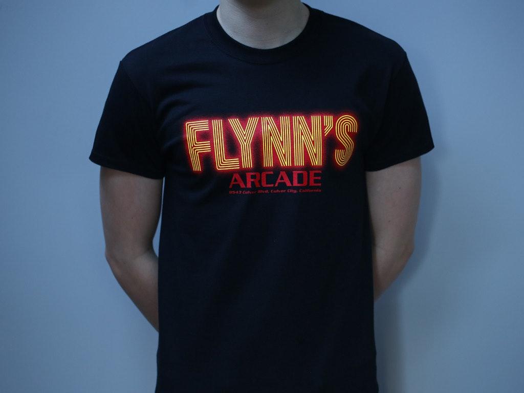 FLYNNS-ARCADE-TRON-INSPIRED-TSHIRT-BY-LA