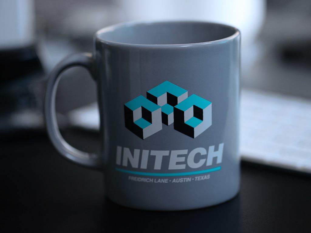 Initech Mug Last Exit To Nowhere