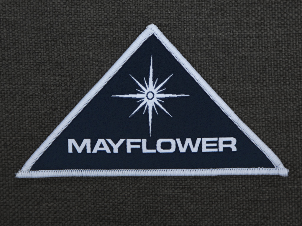 Mayflower Project Sew On Patch Last Exit To Nowhere