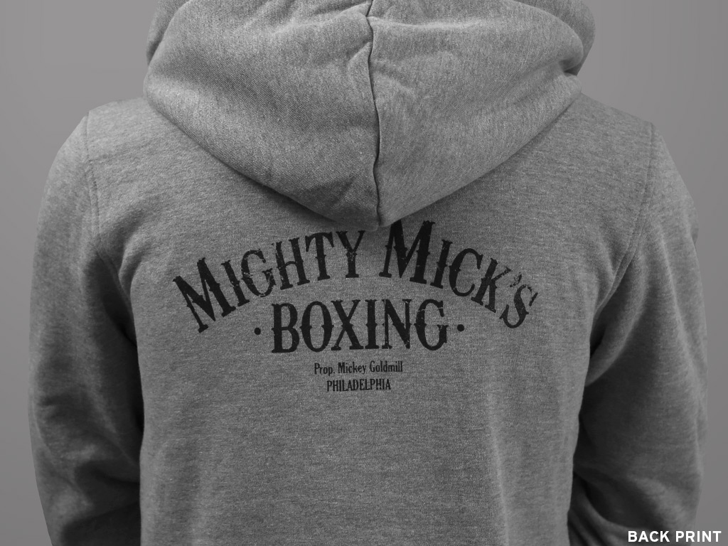 84ebc13ef6 MIGHTY MICK'S - ZIP-UP HOODED TOP   Last Exit to Nowhere