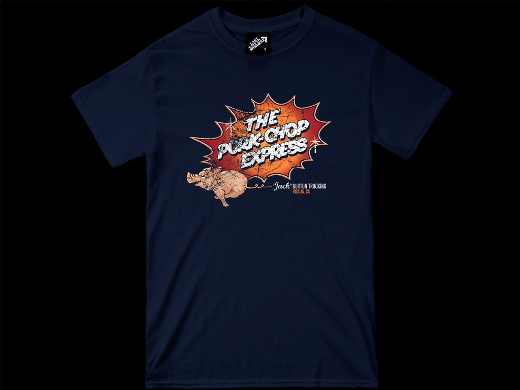 Pork Chop Express T-shirt Inspired by the 1986 film Big Trouble in Little China