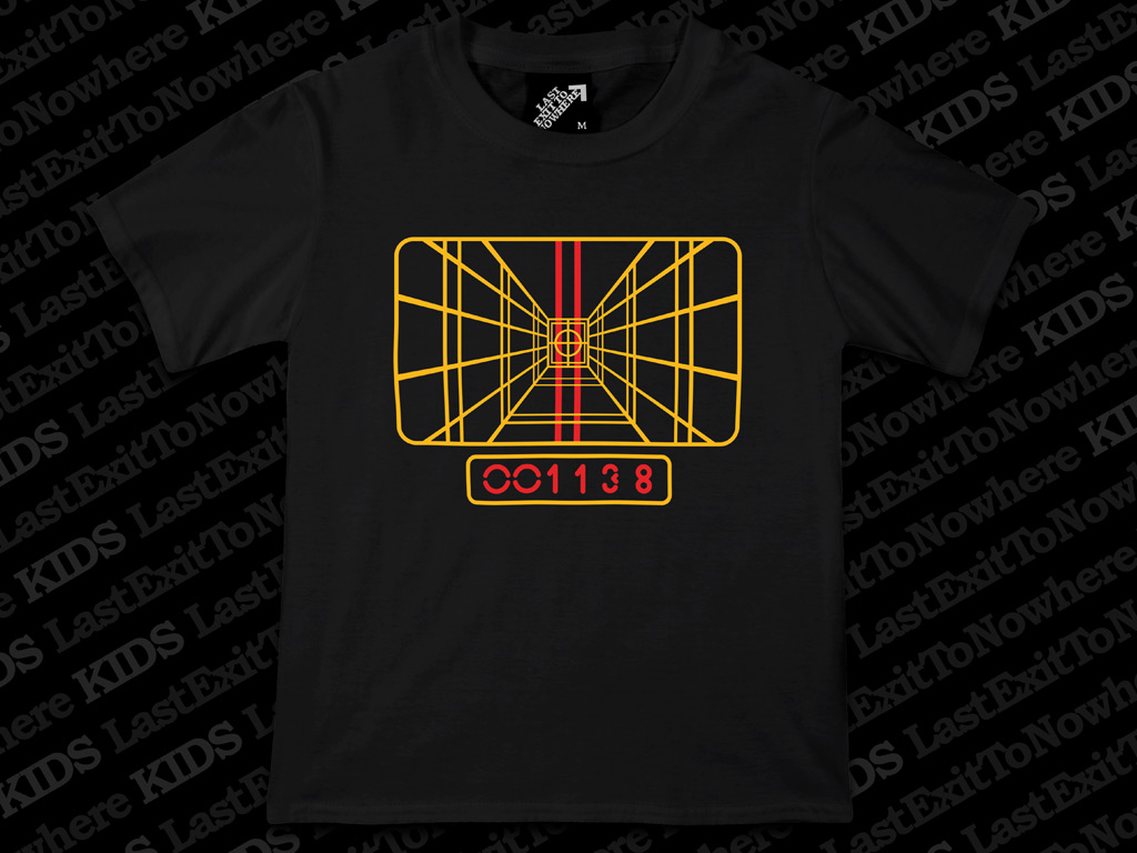 Stay On Target Kids T Shirt Last Exit To Nowhere